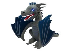 Game of Thrones - Plüschfigur Eisdrache (mit Leuchtfunktion)