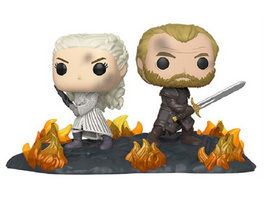 Game of Thrones - POP!-Vinyl Figur Daenerys & Jorah