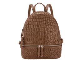 Rucksack mit Krokoprägung - Ally Backpack M