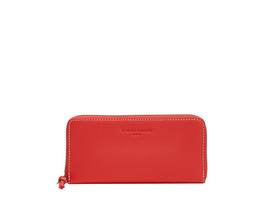 große Brieftasche mit Nähten in Kontrastfarbe - Gray Gigi