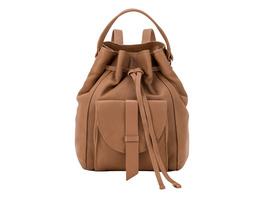 Rucksack aus Lammleder - Soft Bucket Backpack M