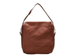 Hobo Bag aus Softleder - Stud Strap Hobo M