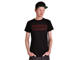Upside Down T-Shirt schwarz