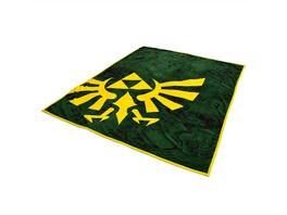 Zelda - Hyrule Logo Flauschdecke