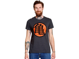 Dragon Ball - Kame Symbol T-Shirt grau