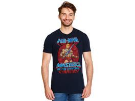 Masters of the Universe - He-Man Pose T-Shirt blau
