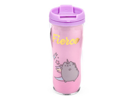 Pusheen - Fierce To Go Becher rosa
