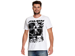 Star Wars - Fighting Forces T-Shirt weiß