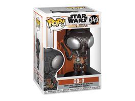 Q9-0 Funko Pop Wackelkopf-Figur - Star Wars The Mandalorian