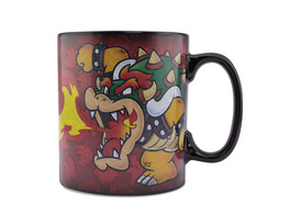 Super Mario - Bowser Thermoeffekt Tasse