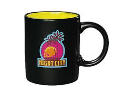 Cyberpunk 2077 - Night City Tasse