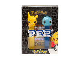 Pokemon - PEZ Bonbons 4er Pack mit 2 Spendern
