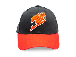 Fairy Tail - Logo Basecap schwarz-rot