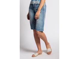 Gina Laura Jeans-Bermuda, 4-Pocket-Schnitt, schmales Bein