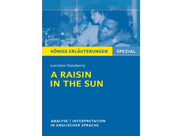 A Raisin in the Sun von Lorraine Hansberry