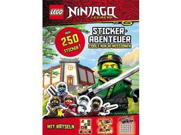 LEGO® NINJAGO® – Stickerabenteuer. Coole Ninja-Missionen