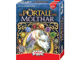 AMIGO AMI05780 - Die Portale von Molthar, Kartenspiel