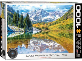 Eurographics 6000-5472 - Rocky Mountain National Park, Puzzle