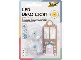 Folia Deko-Licht LED, 2er Set